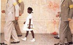 art oil paintings - the problem we all live with by norman rockwell