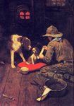 norman rockwell red cross magazine 1918 painting