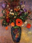 odilon redon bouquet of flowers in a vase painting 28517