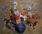 odilon redon flowers iv painting 28575