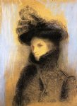 odilon redon portrait of marie botkine painting 28624