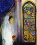 odilon redon portrait of simone fayet in holy communion painting 28627