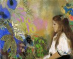 odilon redon portrait of yseult fayet painting 28632