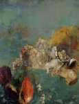 odilon redon saint george and the dragon painting