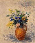 odilon redon vase of flowers iii painting 28707