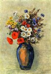 odilon redon vase of flowers iv painting 28708