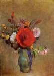 odilon redon vase of flowers vi painting 28713