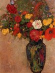 odilon redon vase of flowers vii painting 28714