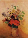 odilon redon vase of flowers viii painting 28715