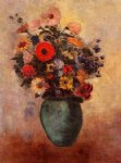 odilon redon vase of flowers xii painting 28719