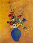 odilon redon vase of flowers xvi painting 28723