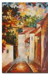 original paintings a narrow street painting
