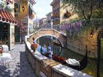 original a small town by the river by original paintings painting