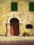 original paintings arc door painting