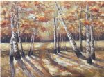 original paintings autumn forest painting
