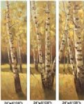 original paintings autumn woods ii painting