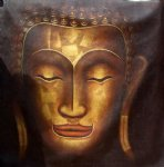 original paintings - original buddhist statue 2 by original paintings
