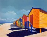 original paintings cabins by the sea oil painting