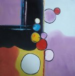 original paintings - original colorful circles by original paintings