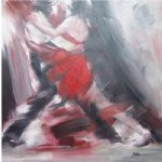 original dancing man and woman 1 by original paintings painting