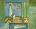 original lighthouse 2 by original paintings painting-28326