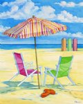 original paintings summer beach 3 painting