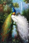 original tow peacocks by original paintings painting
