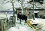 original   winter russia 15 painting