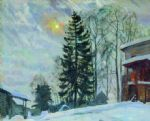 original   winter russia 18 painting