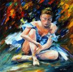 original a dancer after the show painting 86510