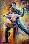 original abstract argentine tango painting 86513