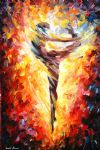 original abstract ballet dancer 3 painting 86515
