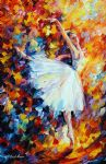 original abstract ballet magic painting 86517