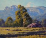 original australian mountain house trees landscape prints