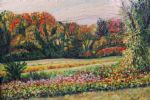 original autumn meadows in new england richard nowak painting-86555