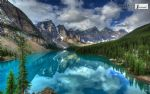 original beautiful scenery of canada banff national park painting-86425