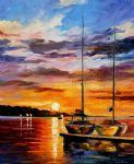 original by the dock seascape art