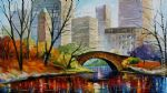 central park new york by original painting