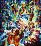 original latin mood dancer painting-86652