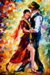 original romantic tango painting