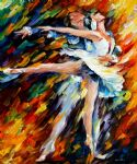 original romeo and juliet dancers painting