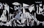 famous painting - guernica 1937 gallery wrap by pablo picasso