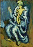 motherhood ii by pablo picasso painting