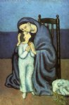 motherhood by pablo picasso painting