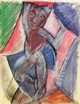 nude young boy by pablo picasso painting