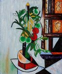 tomato plant iii by pablo picasso paintings