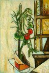 pablo picasso tomato plant painting