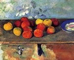 apples and biscuits ii by paul cezanne paintings