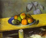 apples peaches pears and grapes by paul cezanne painting