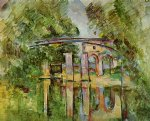 aqueduct and lock by paul cezanne paintings
